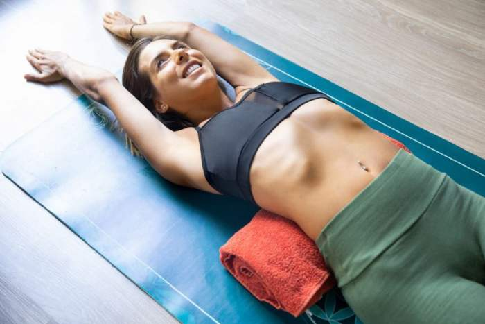 The Japanese towel method to flat stomach and reduce waist, Hiit Workout