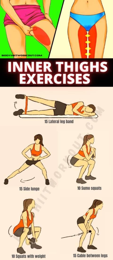 Exercise For Inner Thighs