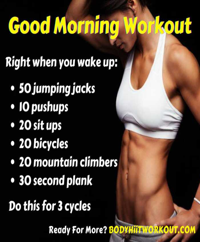 Good Morning Workout
