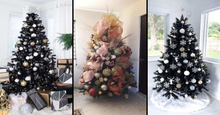 11 black christmas tree decoration that your dark soul