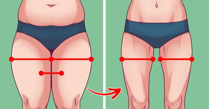 Exercises that'll melt your inner thigh and vagina fat