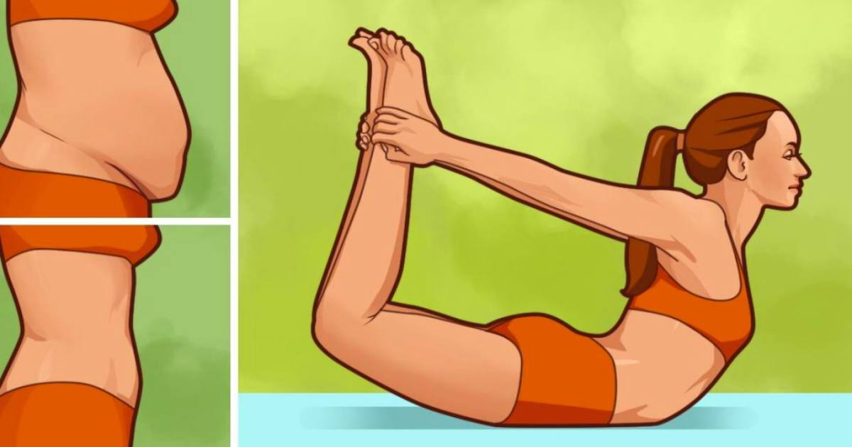 yoga poses to lose belly fat and strengthen your core