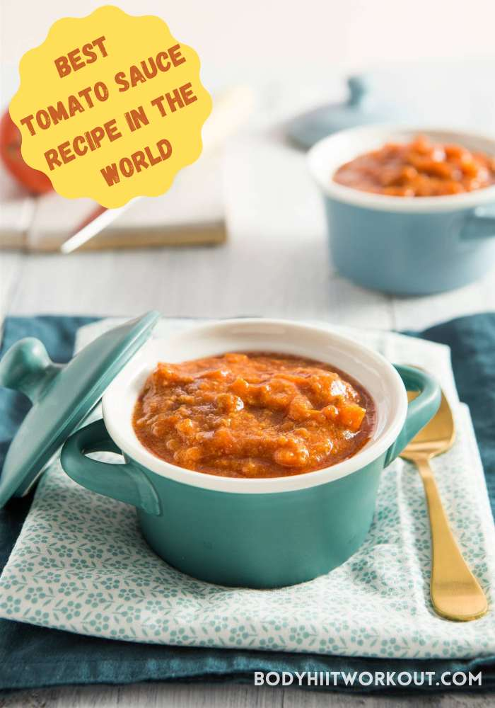 Best tomato sauce recipe in the world